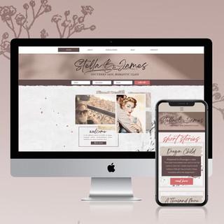 Stella B James Website