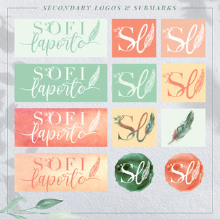 Sofi Laporte Branding