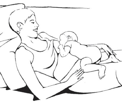 breastfeeding in New Jersey with lactation consultant, IBCLC, laid back biological breastfeeding