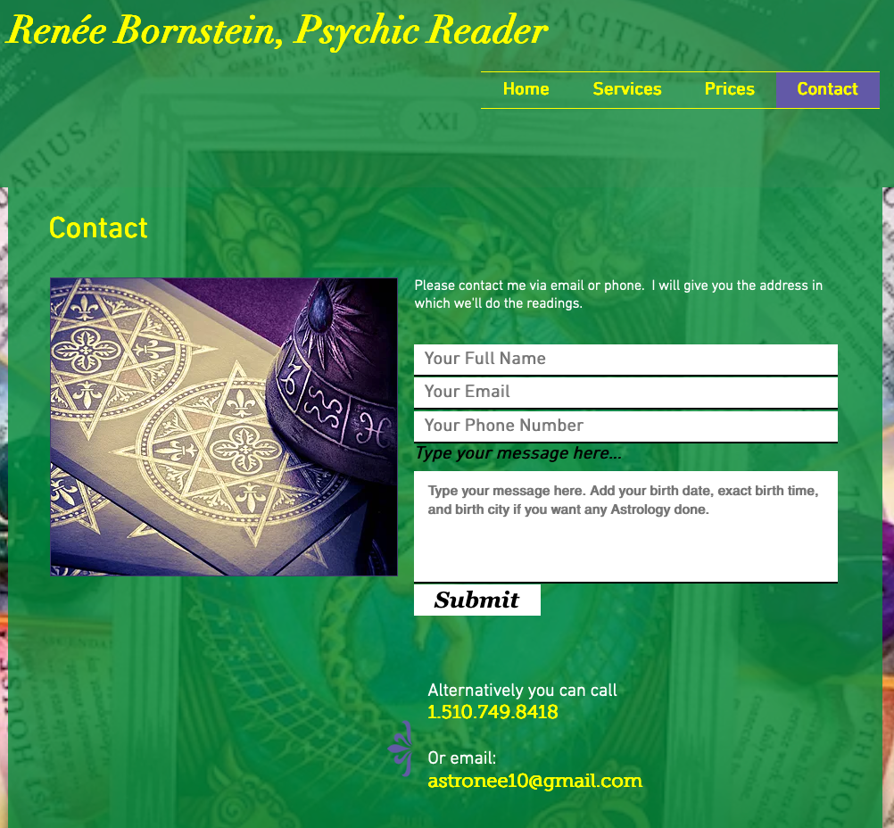 Contact | Psychic Reader | SF Bay Area | Psychic Readings, Psychic