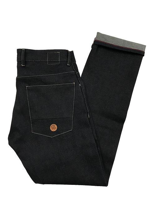 Ska & Soul Zip Fly Selvedge Denim Slim Fit Jean SS/2247 Raw