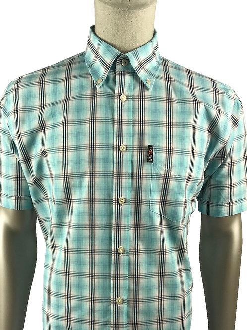 Trojan Prince of Wales B/D Shirt - 8506  - Mint