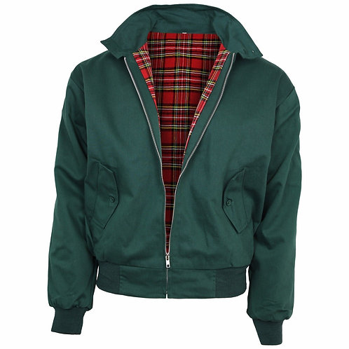 Relco Harrington Jacket Bottle Green