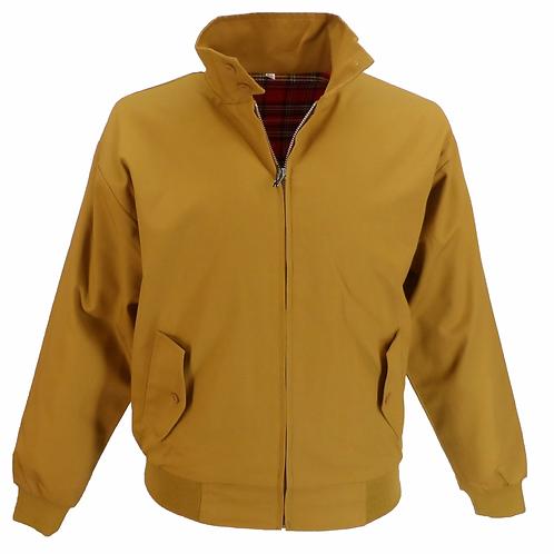 Relco Harrington Jacket Mustard