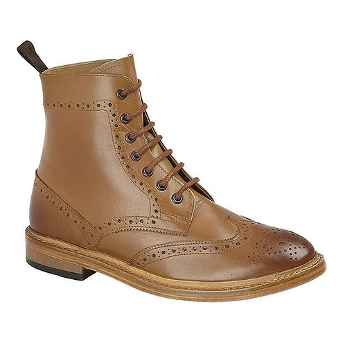 Kensington Brogue Boots M783A - Tan