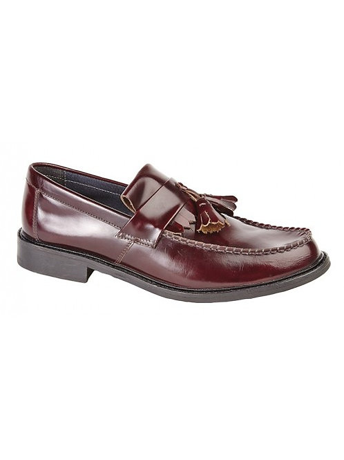 Classic Leather Tassel Loafers M900BD - Oxblood
