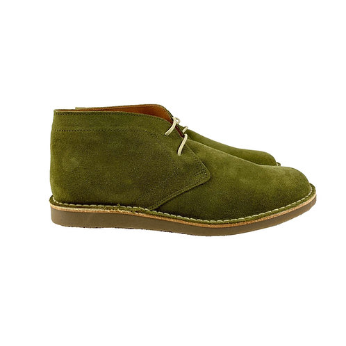Delicious Junction Crowley Suede Desert Boot – Olive