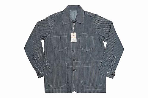 Real Hoxton Prison Jacket Seersucker - 6003