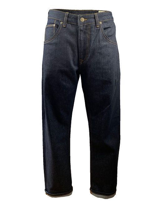 Trojan Zip Fly Stretch Straight Leg Badged Jean - 1022 Raw