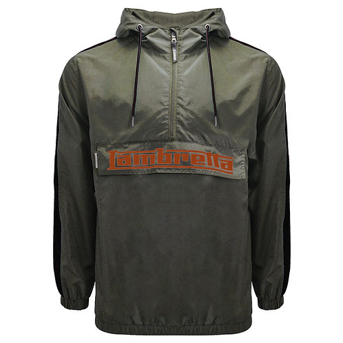 Lambretta Lightweight OTH Jacket Khaki/Black