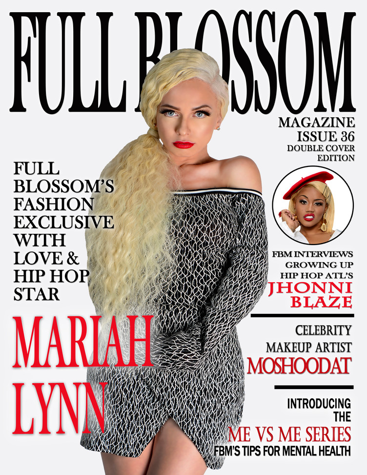 Full Blossom Magazine is proud to announce the release of its first issue of 2019- Issue 36 Double C