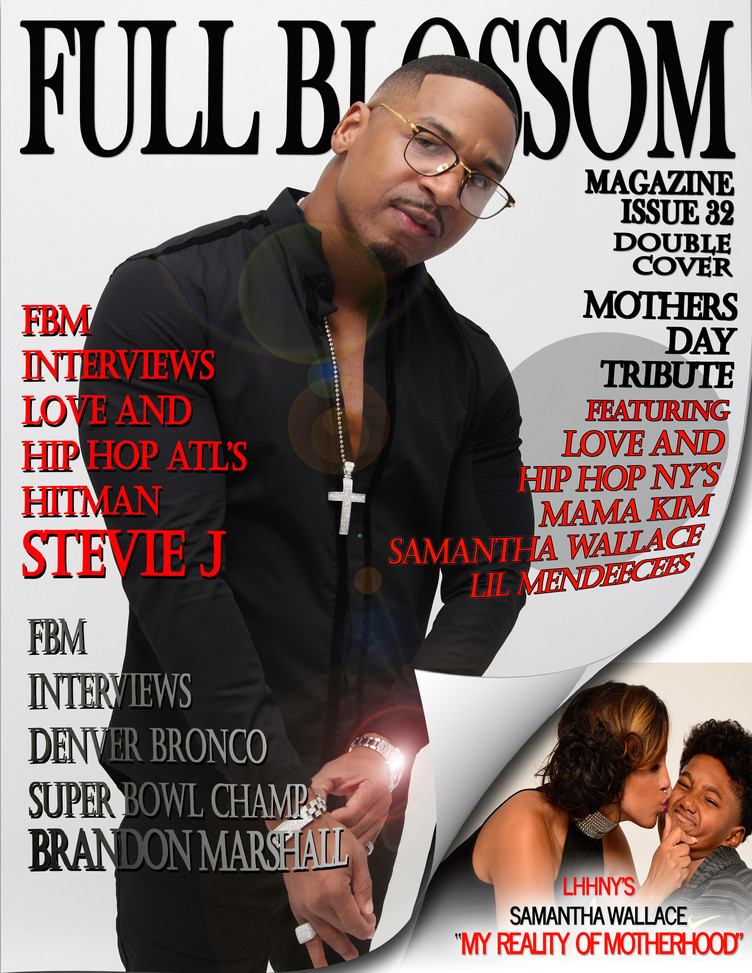 NEW ISSUE ALERT! ISSUE 32 -  FEATURING HITMAN STEVIE J!!! (DOUBLE COVER EDITION)