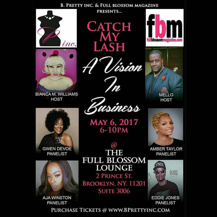 "FULL BLOSSOM PARTNERS WITH, ""CATCH MY LASH"""
