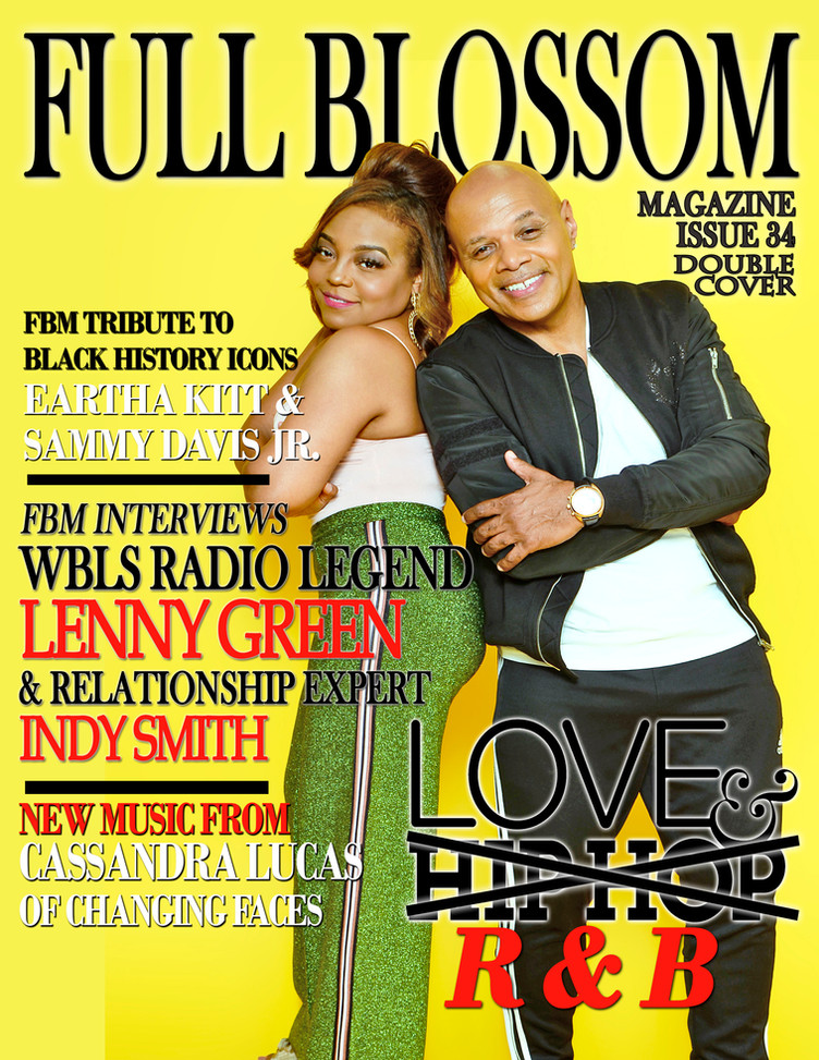 FBM OFFICIALLY RELEASES ISSUE 34- THE LOVE & R&B EDITION FEATURING WBLS R&B RADIO LEGEND