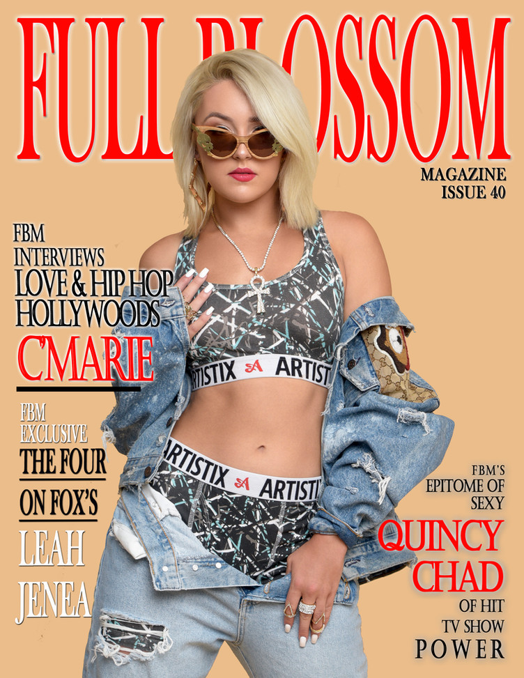 FBM is proud to release Issue 40 Featuring Love & Hip Hop Hollywoods - Cmarie!!! Also featuring