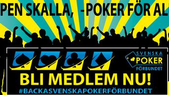 Medlemskampanj Svenska Pokerförbundet