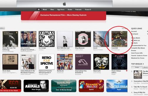 iTunes IE - FosseyTango - Lovechild - Al