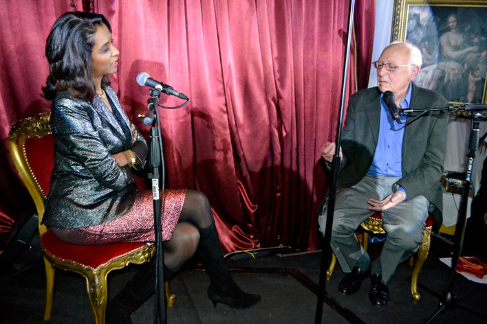 Zeinab Badawi interview @ album launch