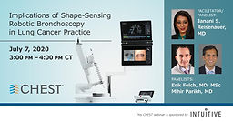 Implications of Shape-Sensing Robotic Bronchoscopy in a Lung Cancer Practice