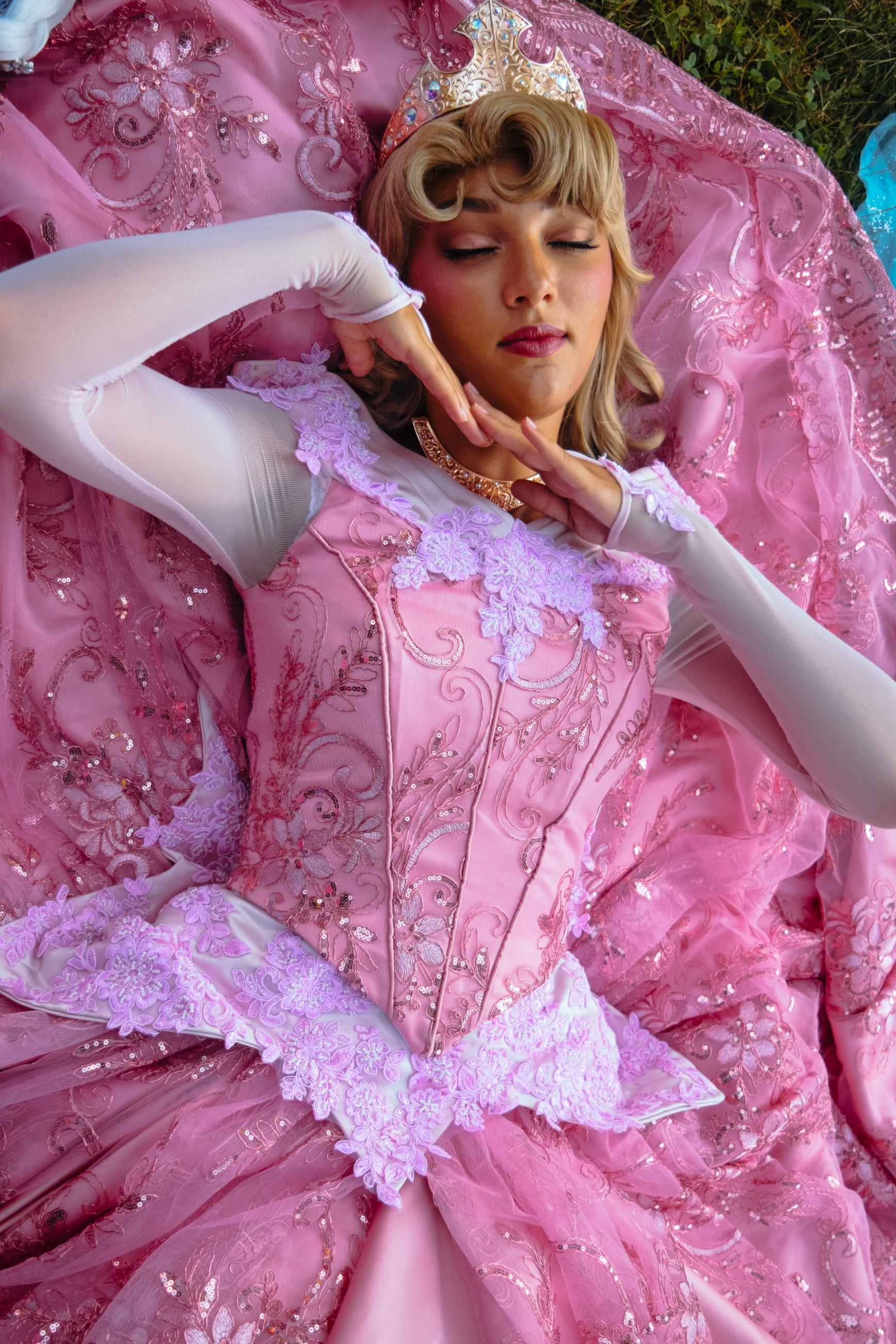 Mermaid Desea as Aurora