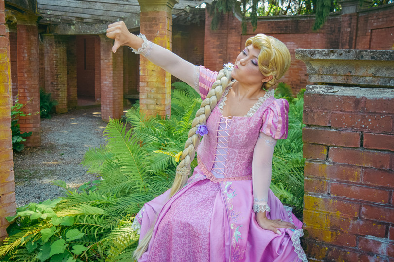 Mayari Moon Designs as Rapunzel