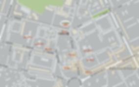Карта района новостройки