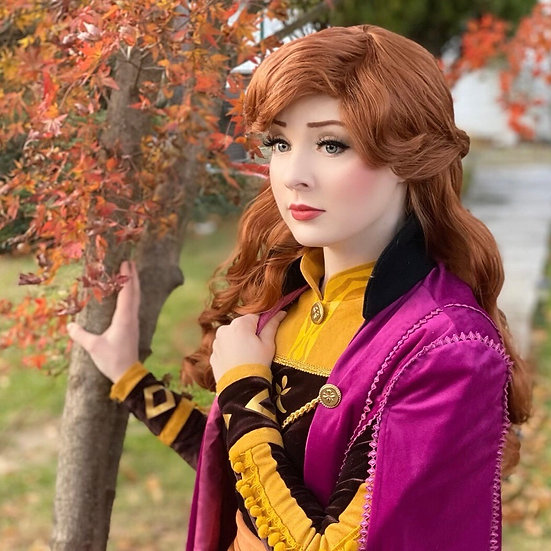 Anna Frozen 2 Inspired Wig