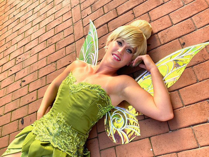 Tinker Bell Parks Inspired Wig
