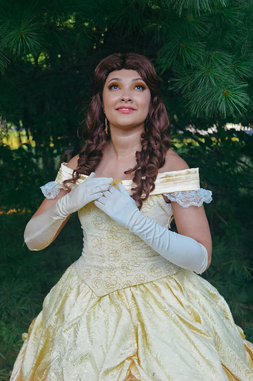 Enchanted Belle Inspired Wig