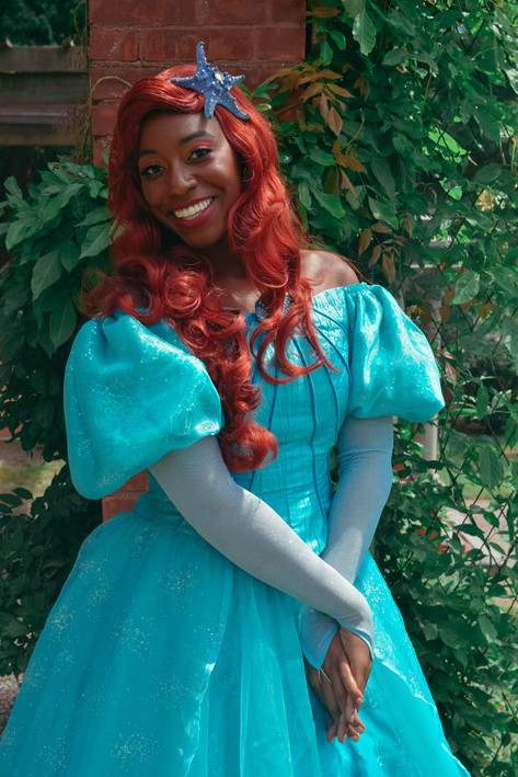 Jodian Grant as Ariel