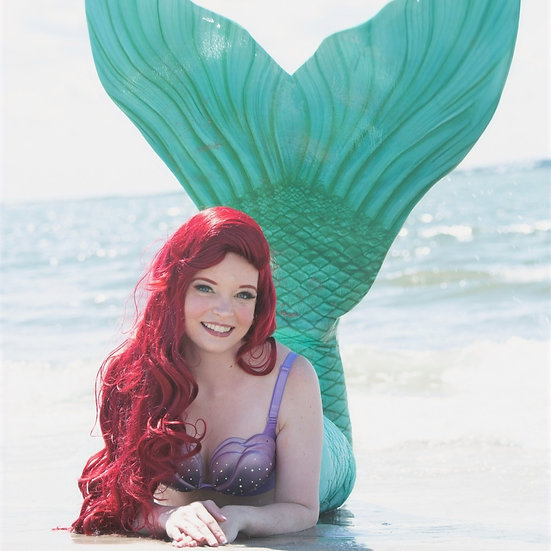 Ariel Inspired Wig