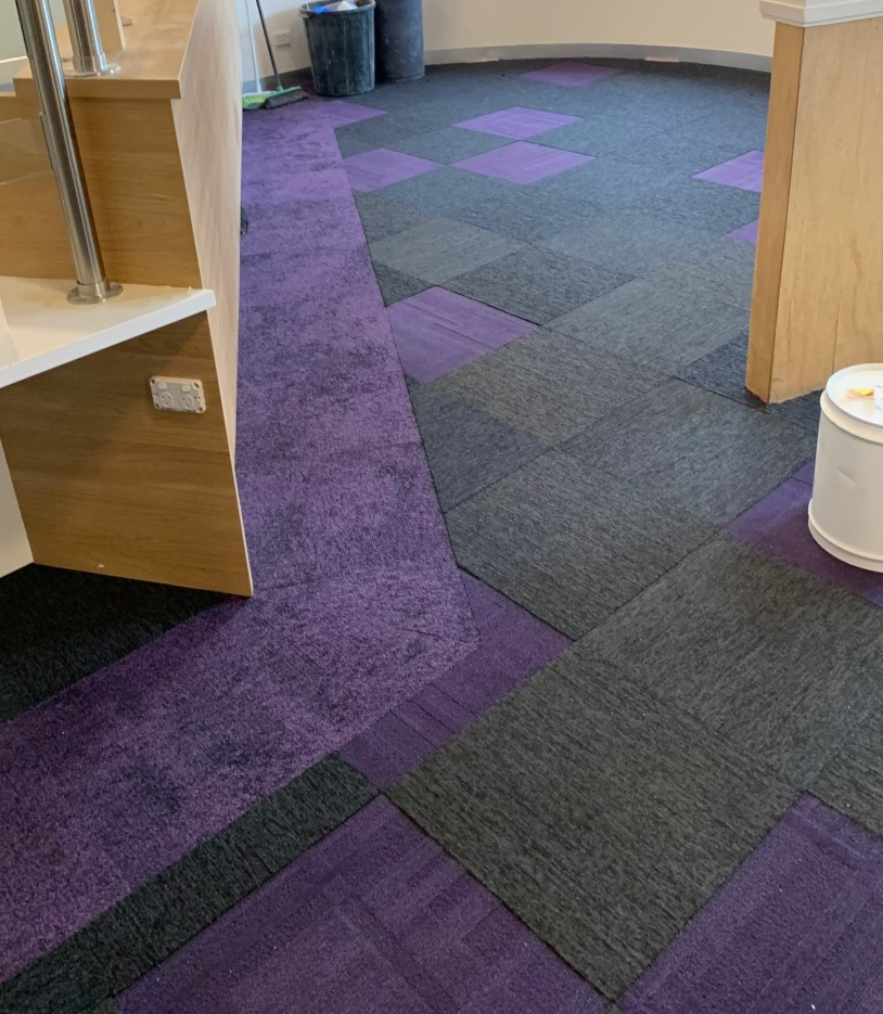 Merri Health Carpet Tiles
