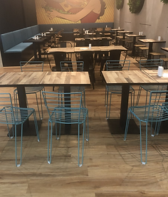Burger Love 5mm Vinyl Planks in two colo