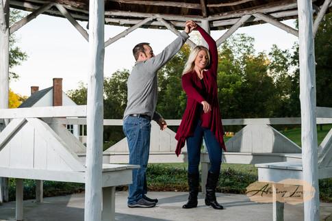 Goldsboro NC Portrait Photographer Historic Oak View Park Raleigh  Downtown Engagement Photography-31