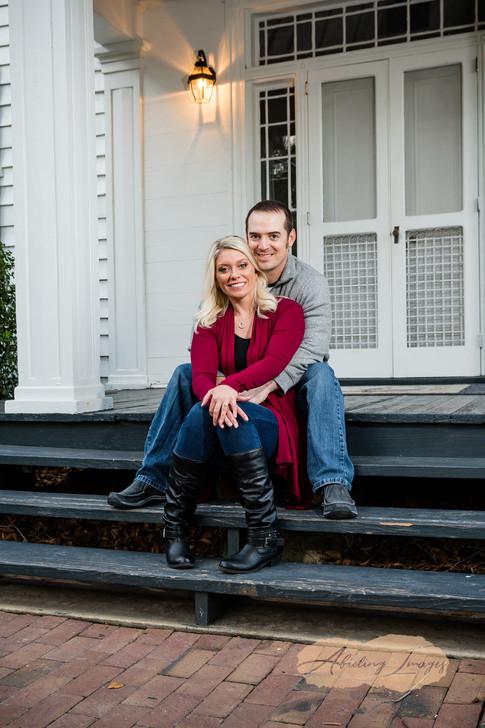 Goldsboro NC Portrait Photographer Historic Oak View Park Raleigh  Downtown Engagement Photography-33