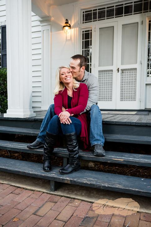 Goldsboro NC Portrait Photographer Historic Oak View Park Raleigh  Downtown Engagement Photography-39