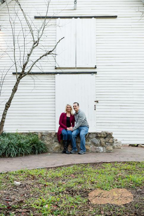 Goldsboro NC Portrait Photographer Historic Oak View Park Raleigh  Downtown Engagement Photography-16