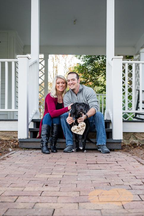 Goldsboro NC Portrait Photographer Historic Oak View Park Raleigh  Downtown Engagement Photography-3