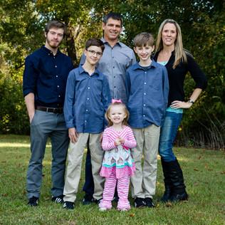 Family Portrait Photographer Goldsboro NC