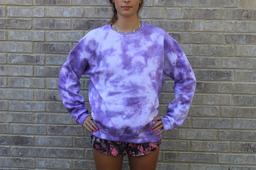 Just Purple Tie Dye