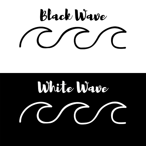 x3 wave decal
