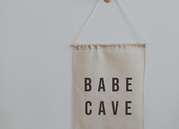 babe cave banner