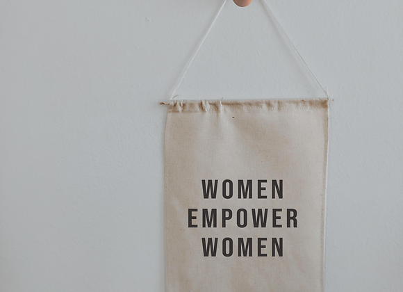 women empower women banner