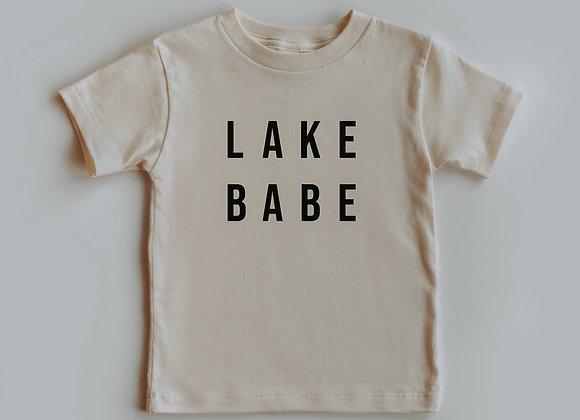 lake babe toddler tee