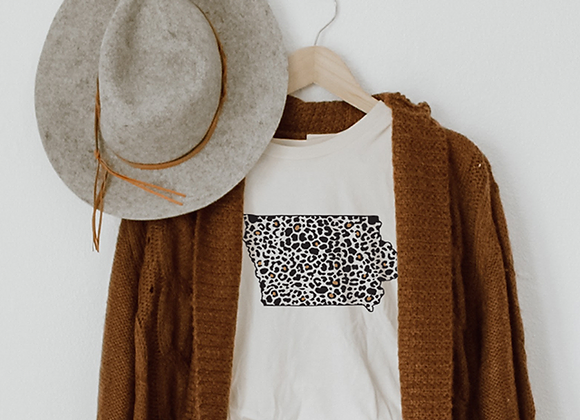 leopard iowa two tone