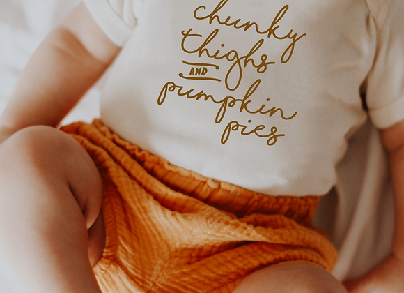 chunky thighs and pumpkin pies
