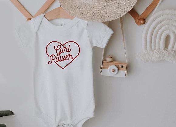 girl power heart