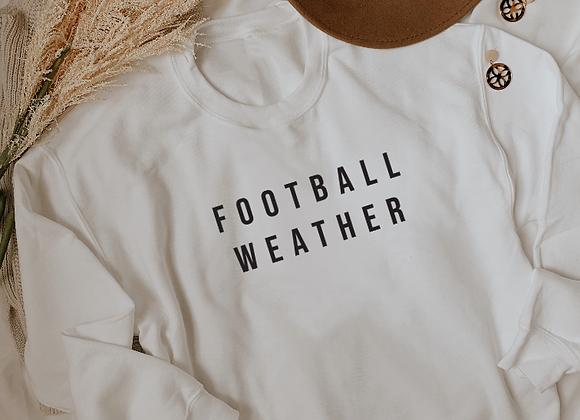 football weather crew neck