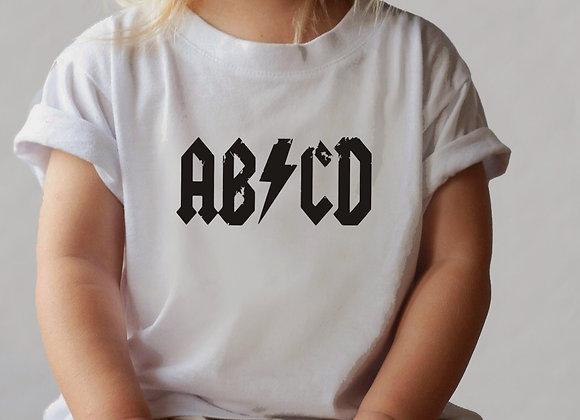 abcd band tee