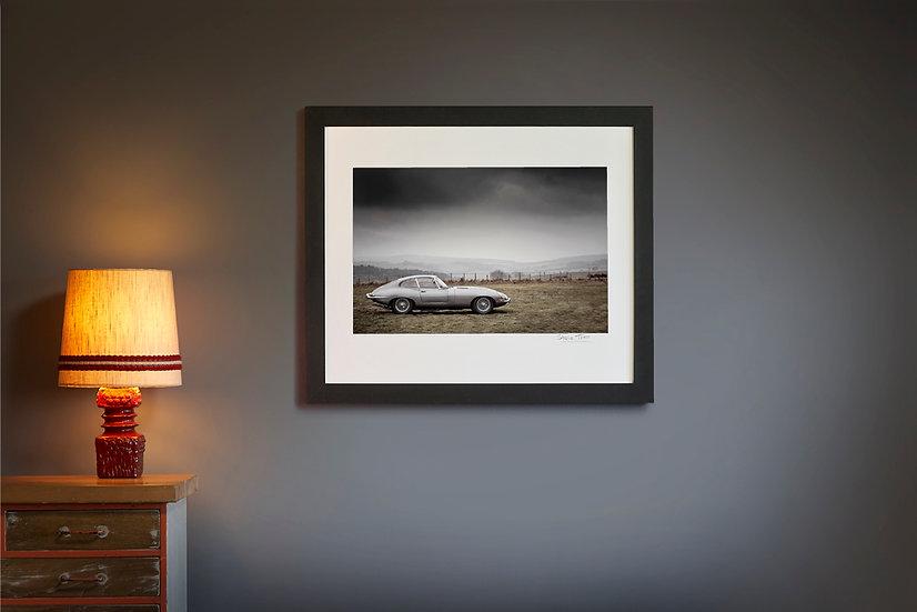 E Type Jaguar Landscape